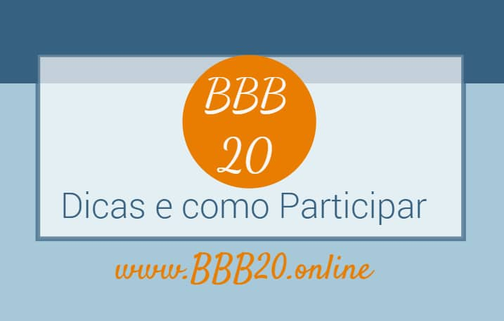 dicas bbb 2020