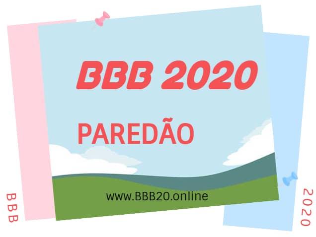 Paredão BBB20