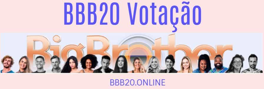 bbb 20 votação