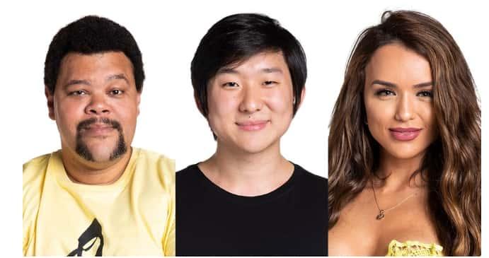 Oitavo paredão BBB21 – quem quer eliminar: Babu, Pyong ou Rafa