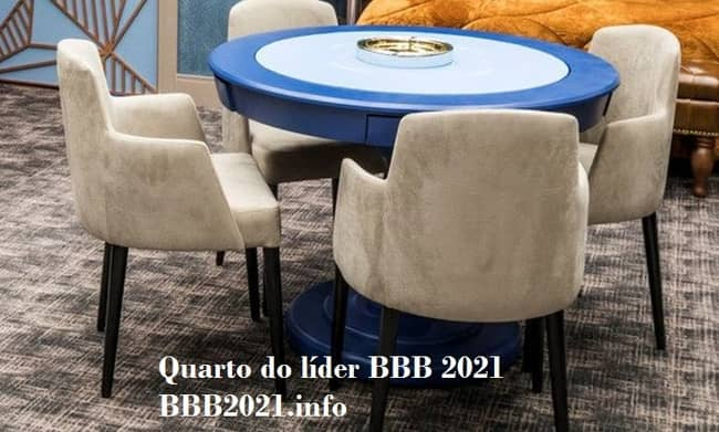 Quarto do líder BBB 2021