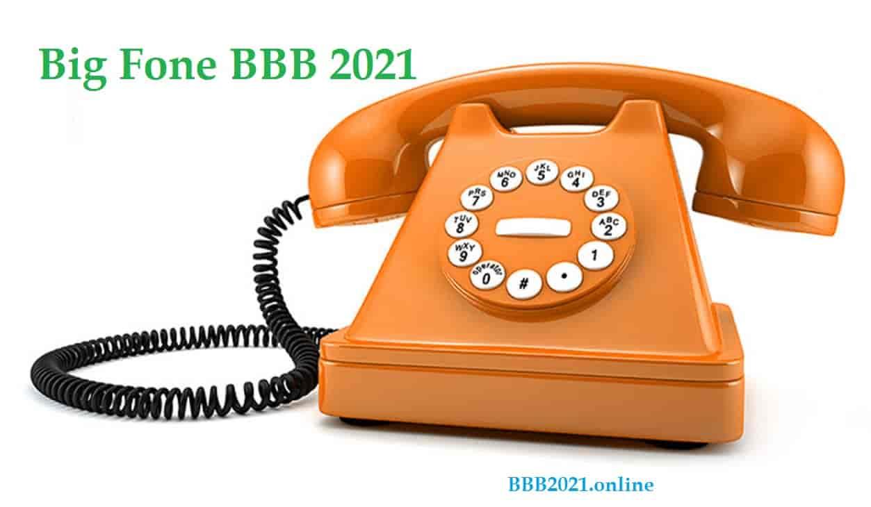 Big Fone BBB 2021 – como funciona e as novidades