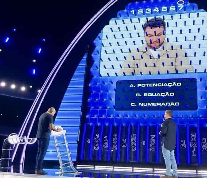 quadro the wall Caldeirão do Huck