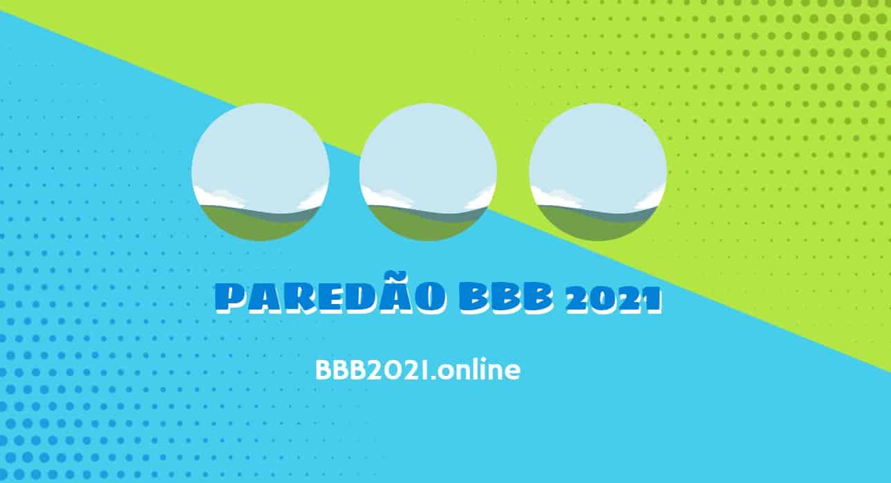 Paredão BBB 2021 – quem você quer eliminar?