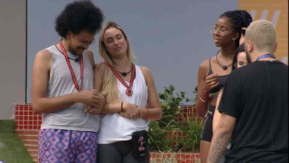 Projota escolhe João Luiz e Sarah para Castigo do Monstro no BBB21