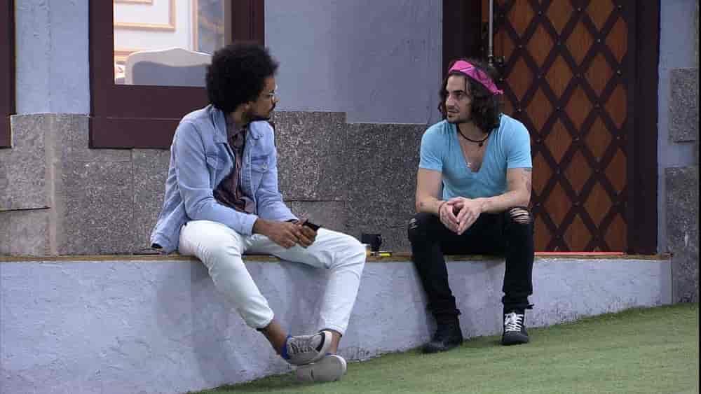 Fiuk desabafa sobre Caio com João Luiz