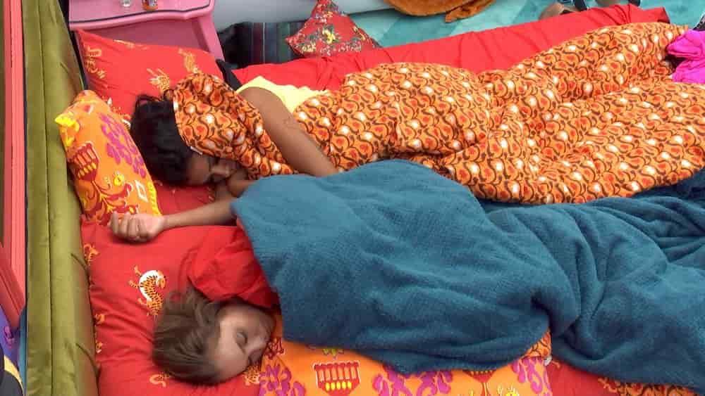 brothers dormindo com despertador