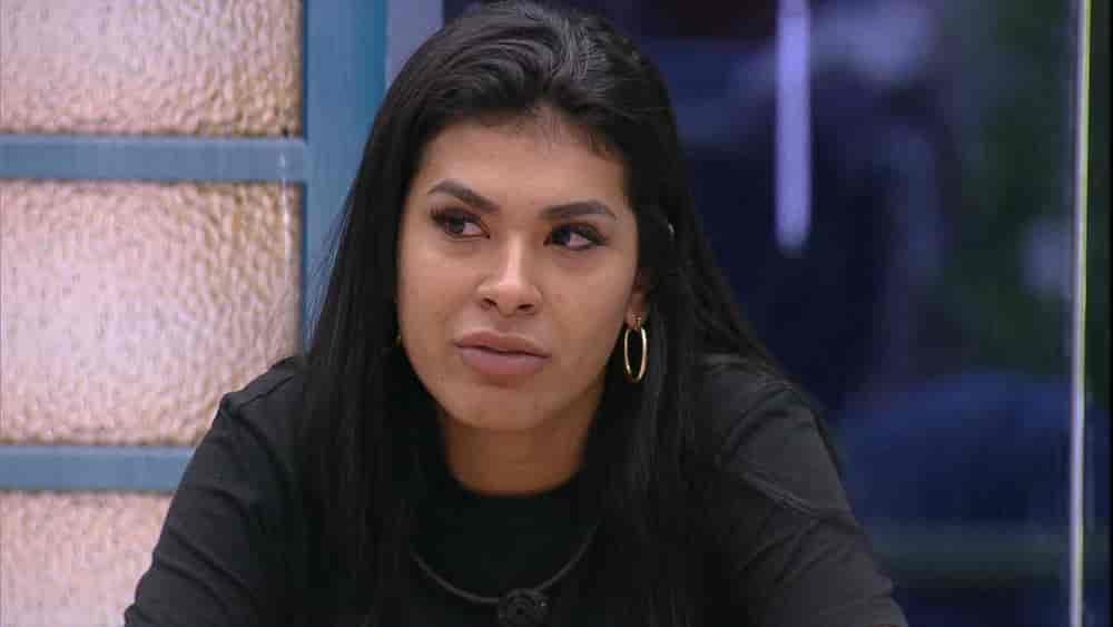 Pocah aconselha sister no BBB21: 'Você tem que começar parar de criar monstro em sua cabeça'