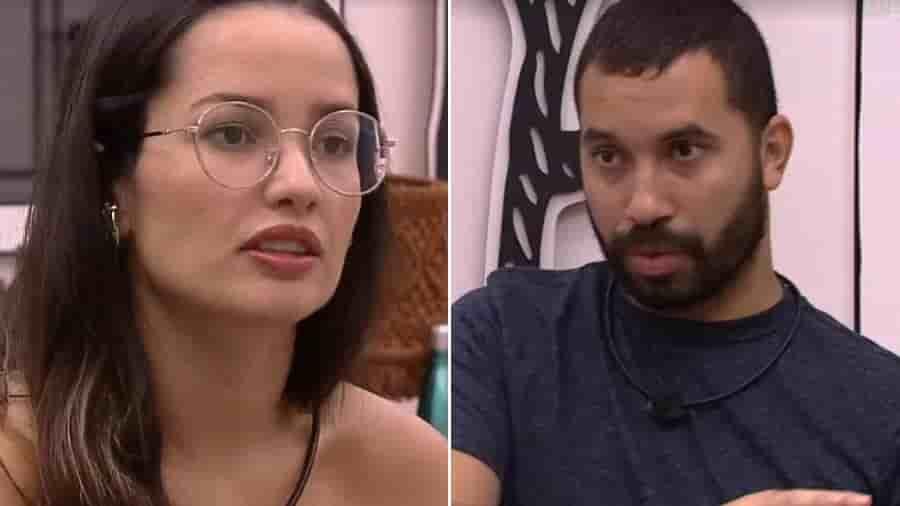 Juliette debocha e critica Gilberto e deixa o brother sem jeito no BBB 21