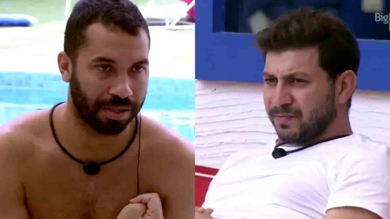 Brothers insinuam falsidade em Gilberto e Caio deixa claro que não é aliado do brother dentro do BBB 21