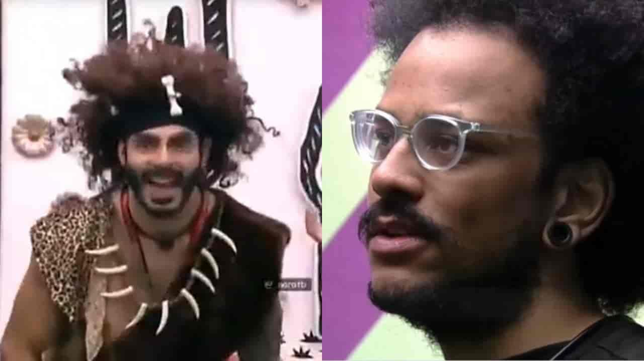 Rodolffo compara o cabelo de João com um homem das cavernas e o brother chora