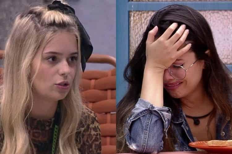 """Viih Tube e Juliette discutem e a sister dispara: """"Tá fazendo birrinha, rebeldia de criança""""."""