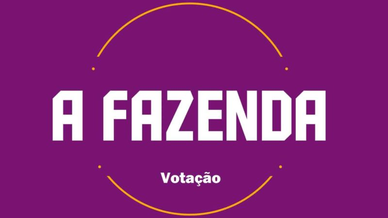 Votação a Fazenda 2021